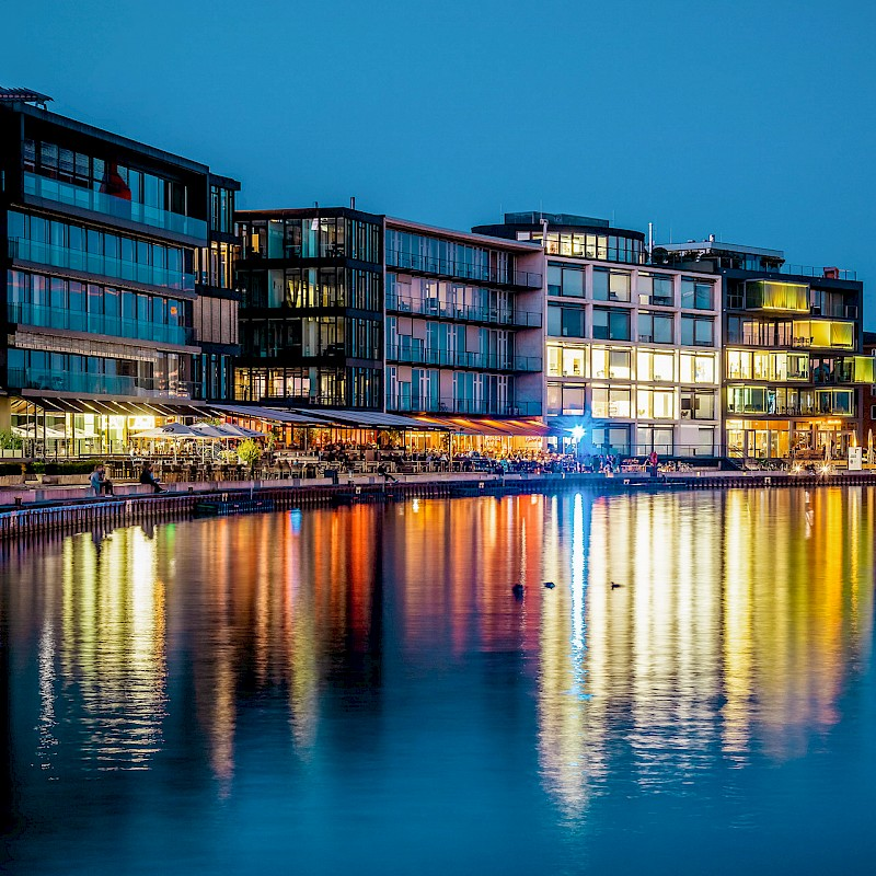 Der Hafen in Münster<br>© Münsterland e.V./Christoph Steinweg