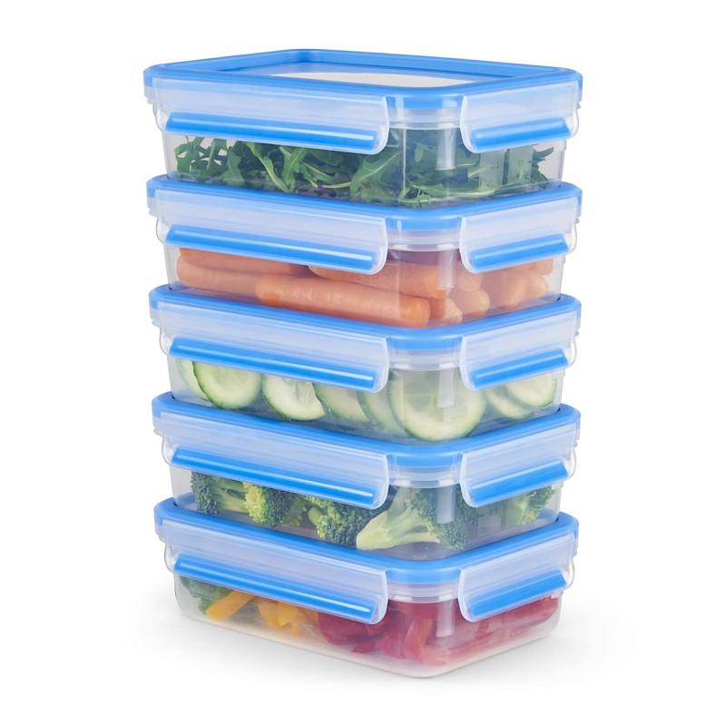 Lebensmittel bleiben in der CLIP & CLOSE Frischhaltedose bis zu zweimal länger frisch im Vergleich zu gewöhnlichen Lagerungsmethoden.<br>© EMSA