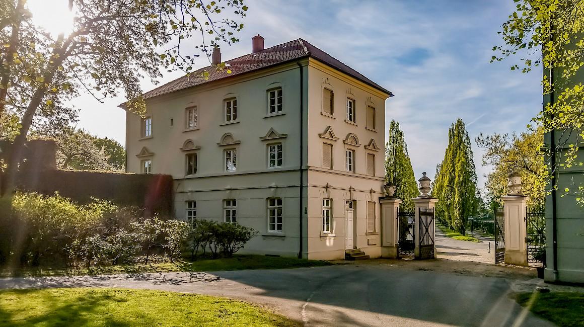 Hoch oberhalb der Lippe liegt das Schloss Cappenberg bei Selm
