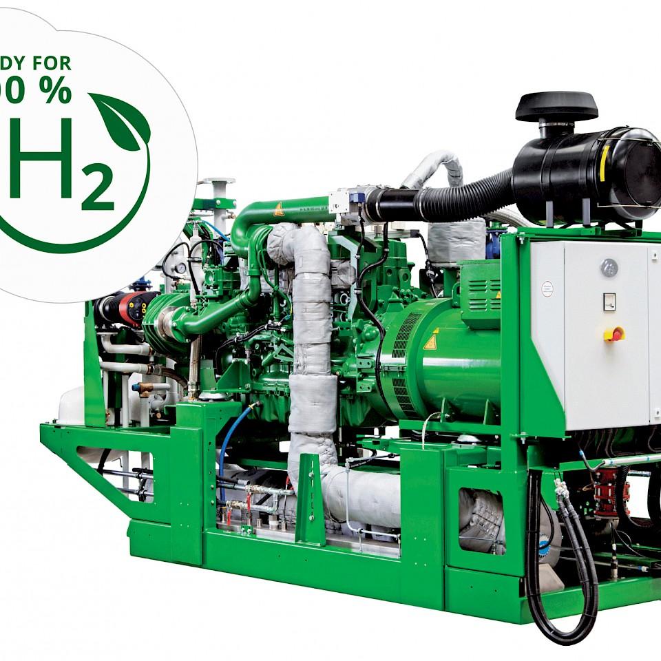 De door waterstof aangedreven warmtekrachtcentrale van 2G Energy