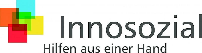 Das Logo von Innosozial<br>© Innosozial gemeinnützige Gesellschaft mbH