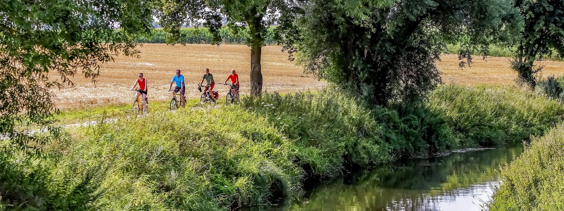 Mit dem Rad von der Quelle bis zur Mündung WERSE RADWEG