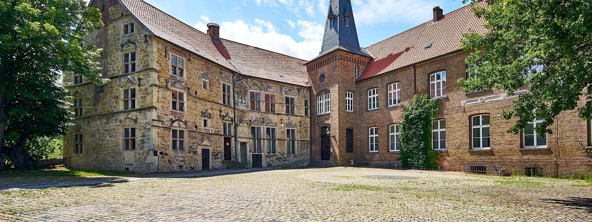 Eine Burg mit Überraschungen Burg Lüdinghausen