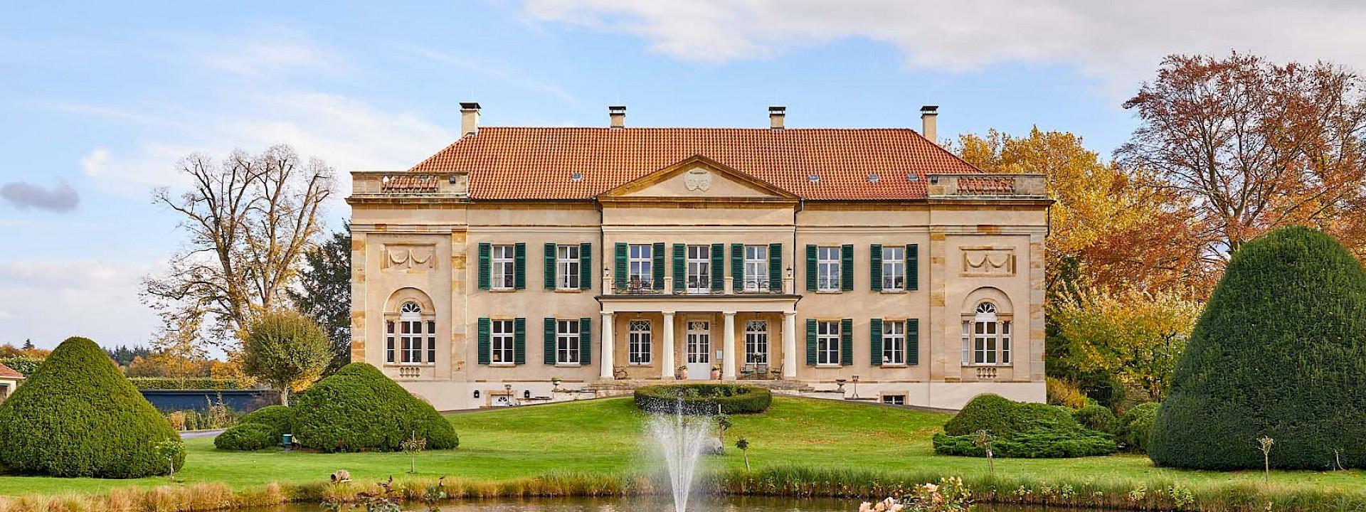 Teil einer einmaligen Doppelschlossanlage Herrenhaus Harkotten