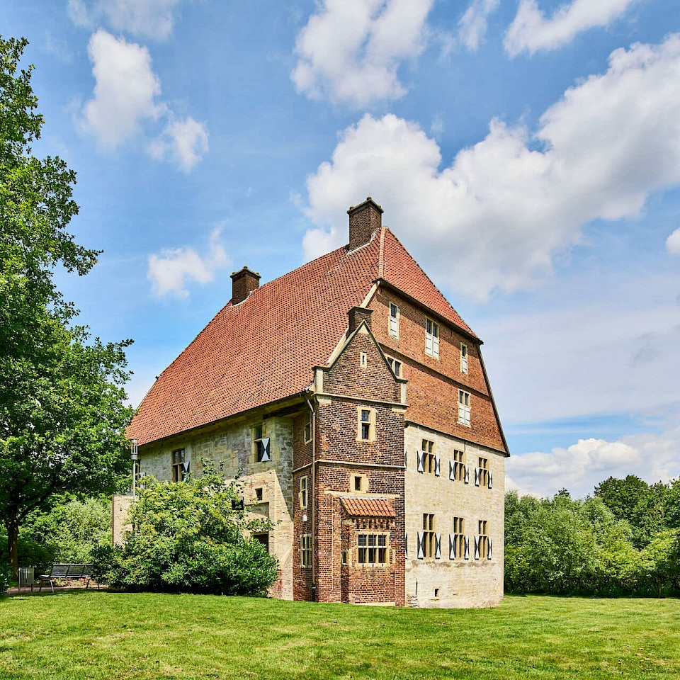 Die Kolvenburg in Billerbeck