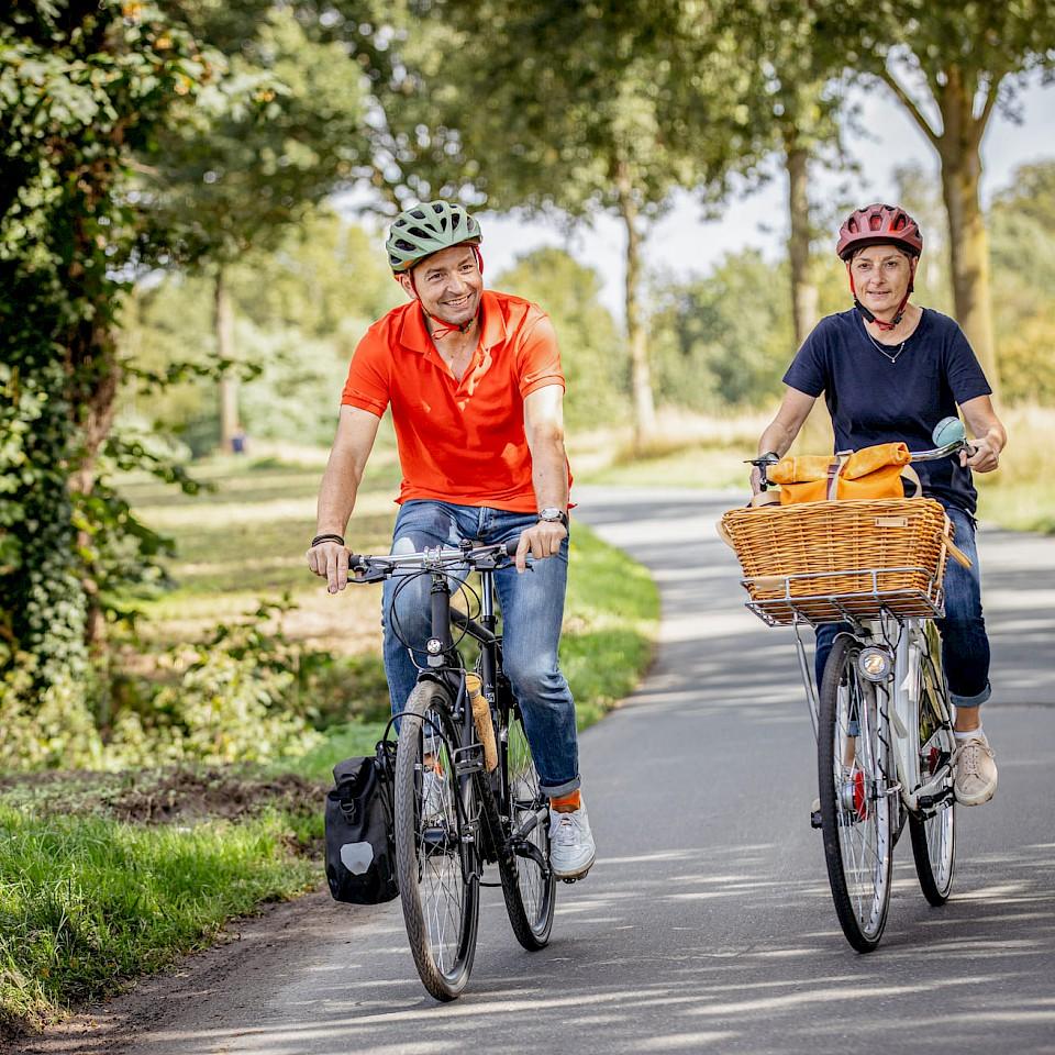 Fahrradfahren im Münsterland