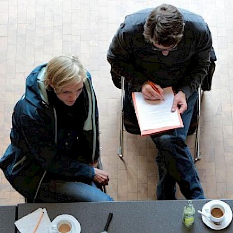 Anträge schreiben Kulturakademie<br>© Maren Kuiter