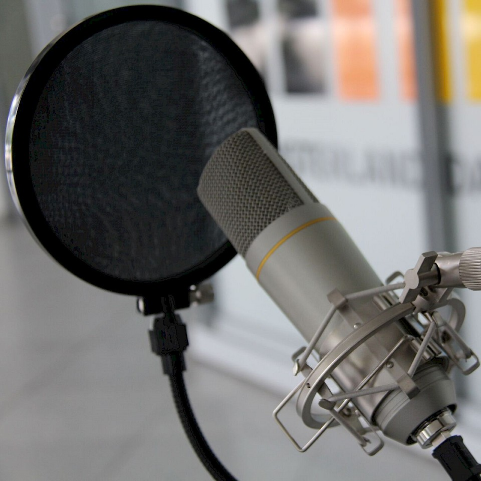 Podcast microfoon