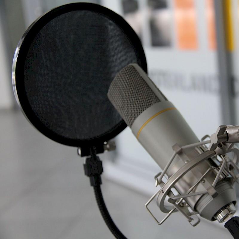 Podcast-Mikrofon<br>© Münsterland e.V.
