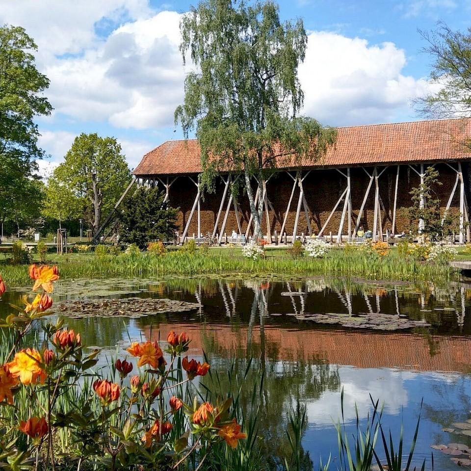 Picknick im Salinenpark Rheine