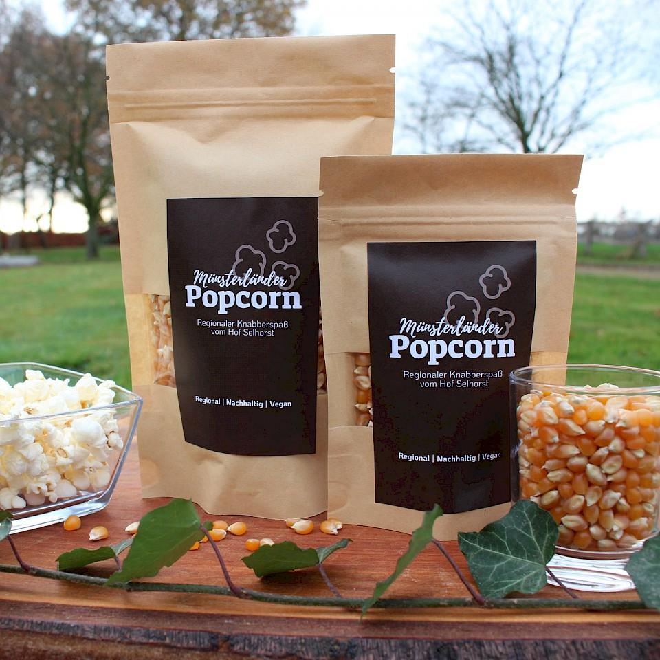 Popcorn aus dem Münsterland gibt's in Ascheberg.