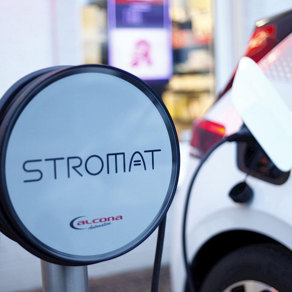 Stromat is een intelligent en duurzaam laadstation voor e-auto's.