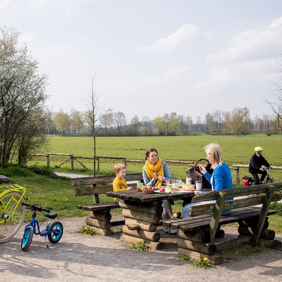 Picknickplatz Steveraue Olfen