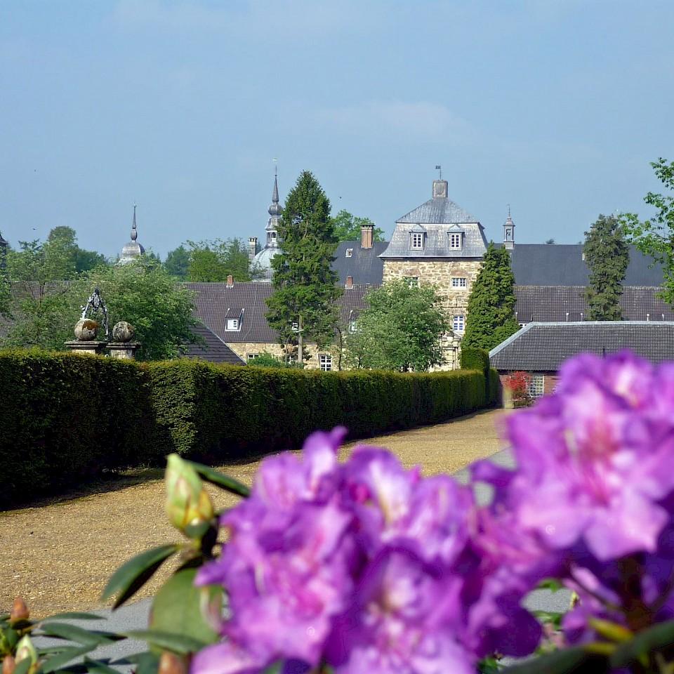 Das Schloss Lembeck im südlichen Münsterland