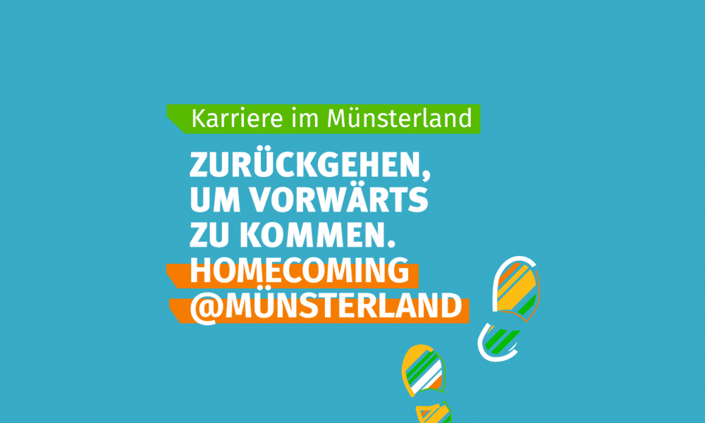 Homecoming@Münsterland returnee campaign: going back to move forward