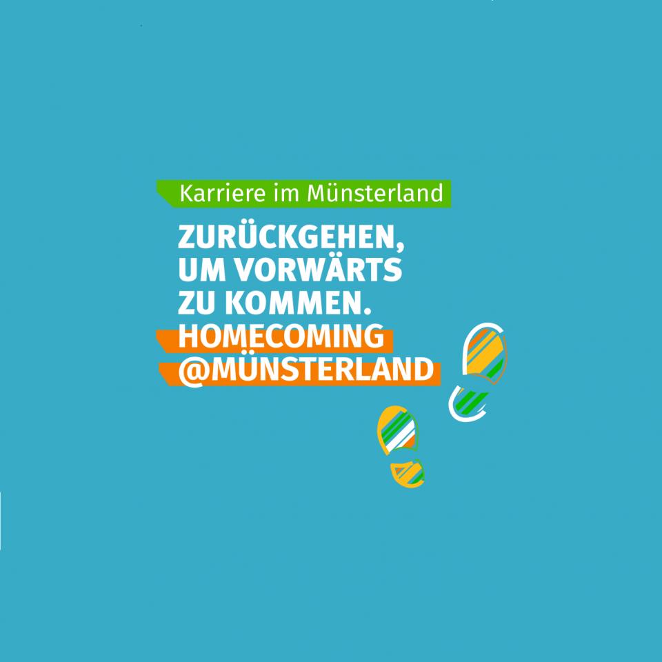 Rückkehrer-Kampagne Homecoming@Münsterland: Zurückgehen, um vorwärts zu kommen