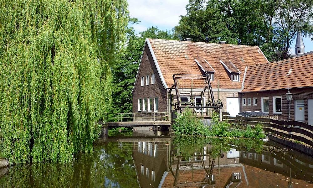 Die Berkel ist einer der Flüsse im westlichen Münsterland