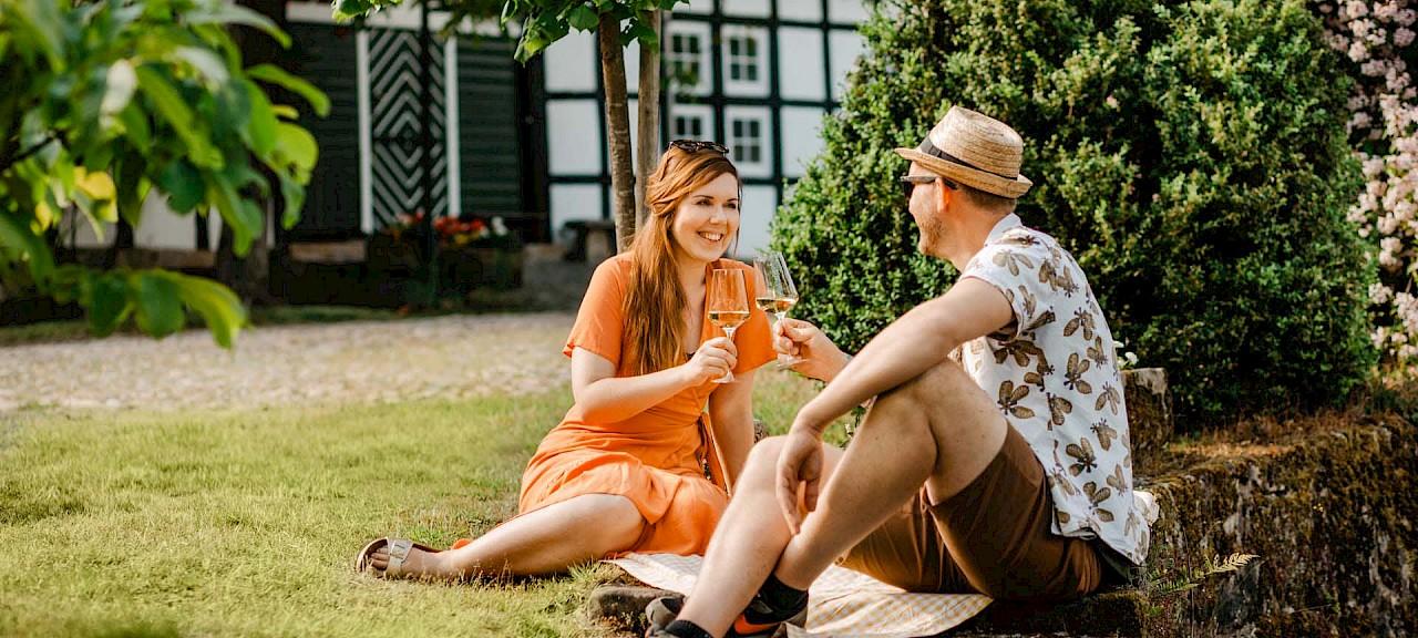 Picknicken gehört beim Homecoming im Münsterland auf jeden Fall dazu.