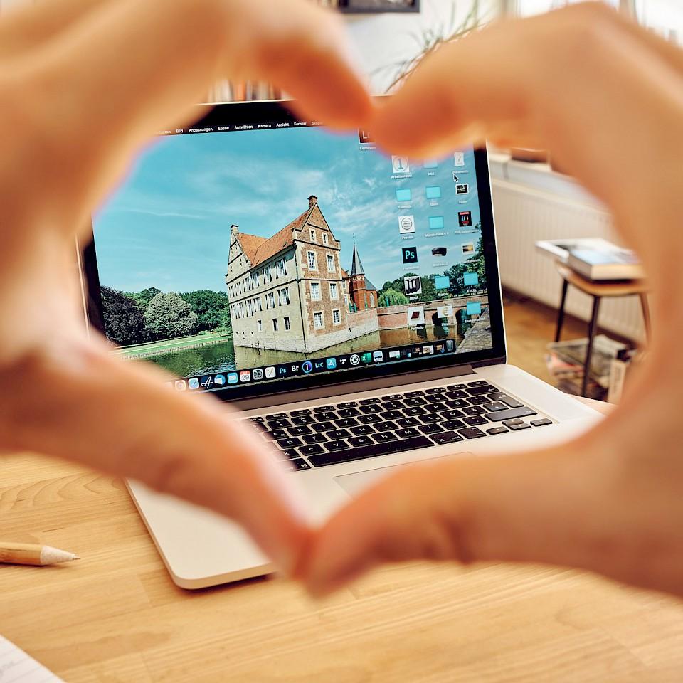 Hintergrundbilder für die Münsterländer Bildschirme