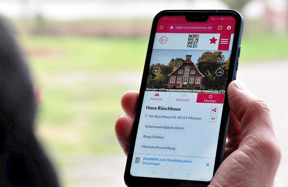 NRW-Reiseführer-App DeinNRW