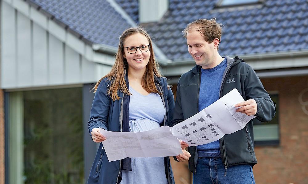 Nachhaltige Gebäudesanierung im Münsterland