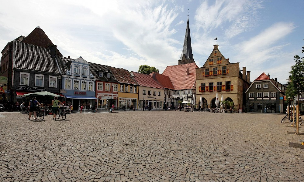 Radreise Werne Burgen, Schlösser, Stadtkultur