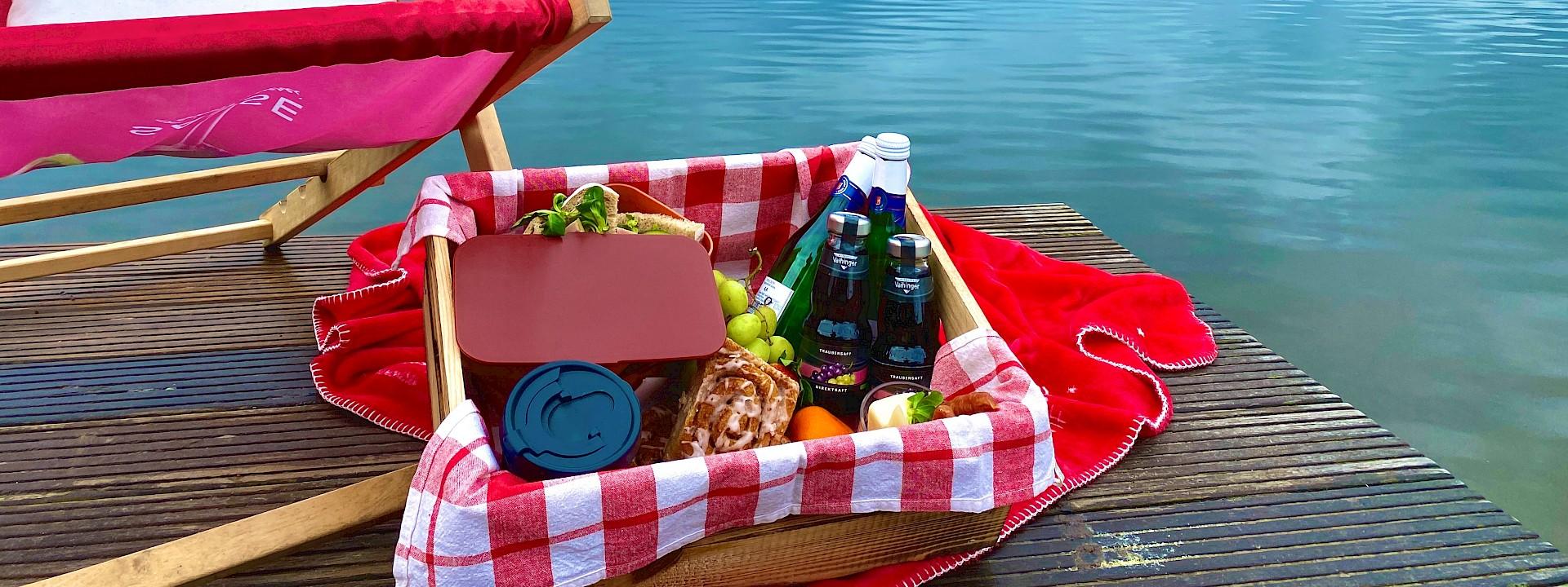 Drei Länder, ein See & ein Picknick in Gronau