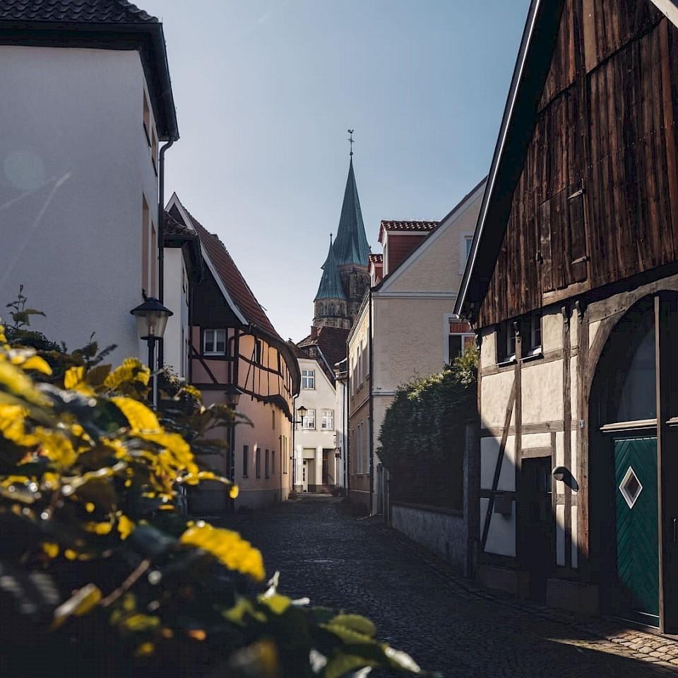 Radreise Urlaubstour Historische Stadtkerne