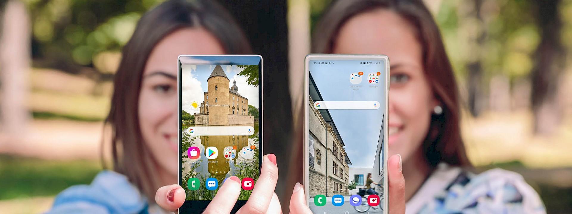 Die schönsten Münsterland-Motive Smartphone mittlere Auflösung
