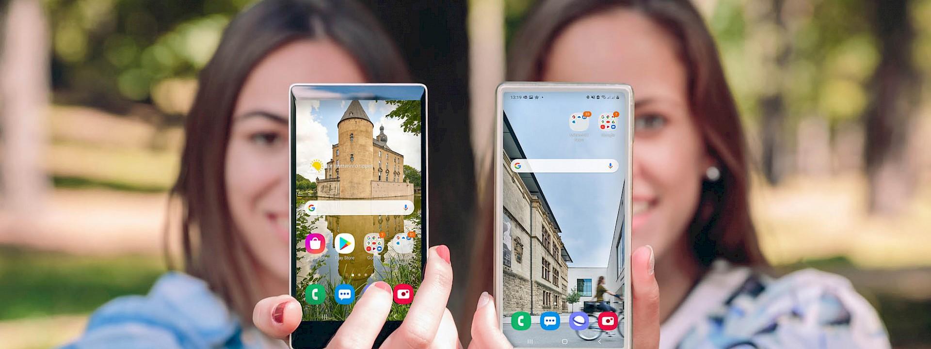 Die schönsten Münsterland-Motive Smartphone niedrige Auflösung