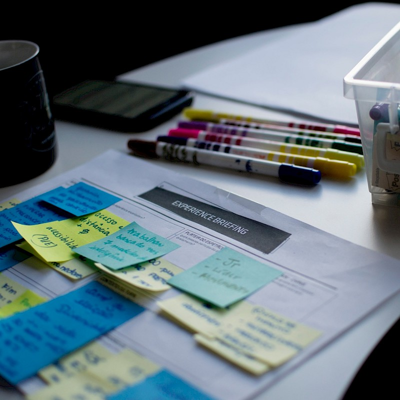 Post-its<br>© Unsplash / Felipe Furtado