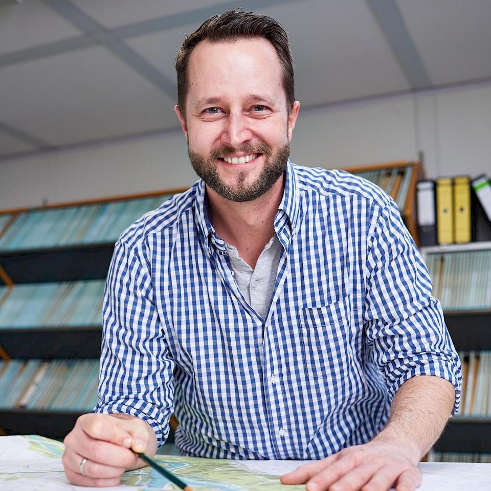 Klimaschutzmanager Marco Imberge