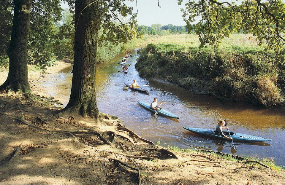 Ausflug Kanufahren auf der Berkel