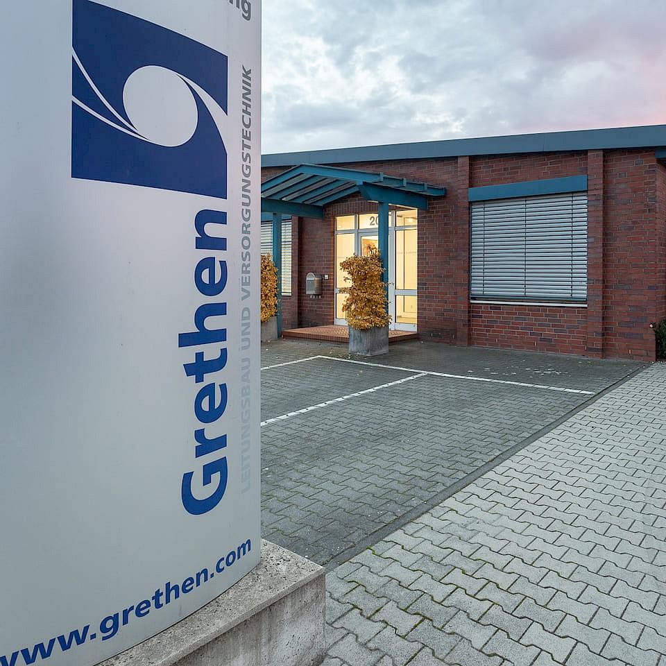 Working for Grethen in Legden in Münsterland