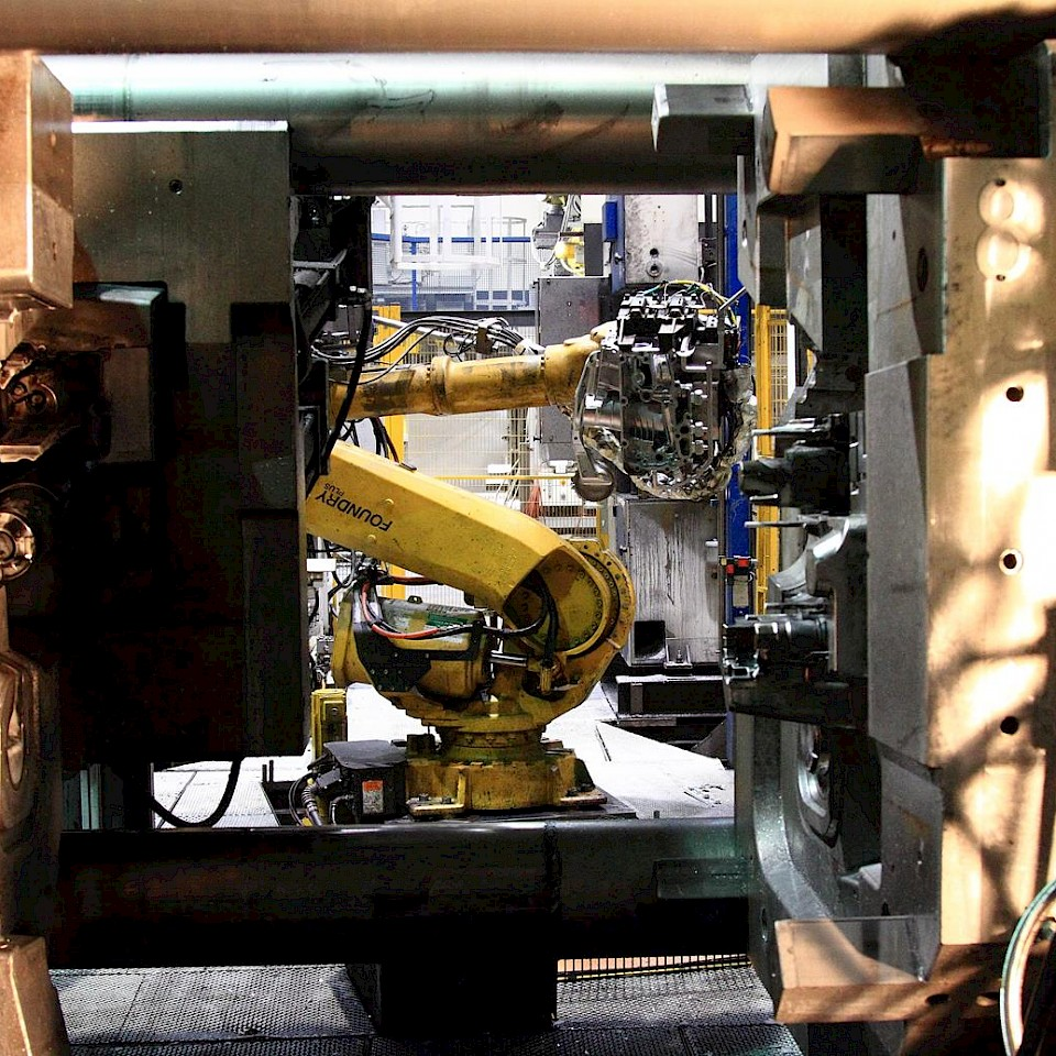 De firma Hengst SE produceert oliefilterbehuizingen. Een kijkje in de gieterij.