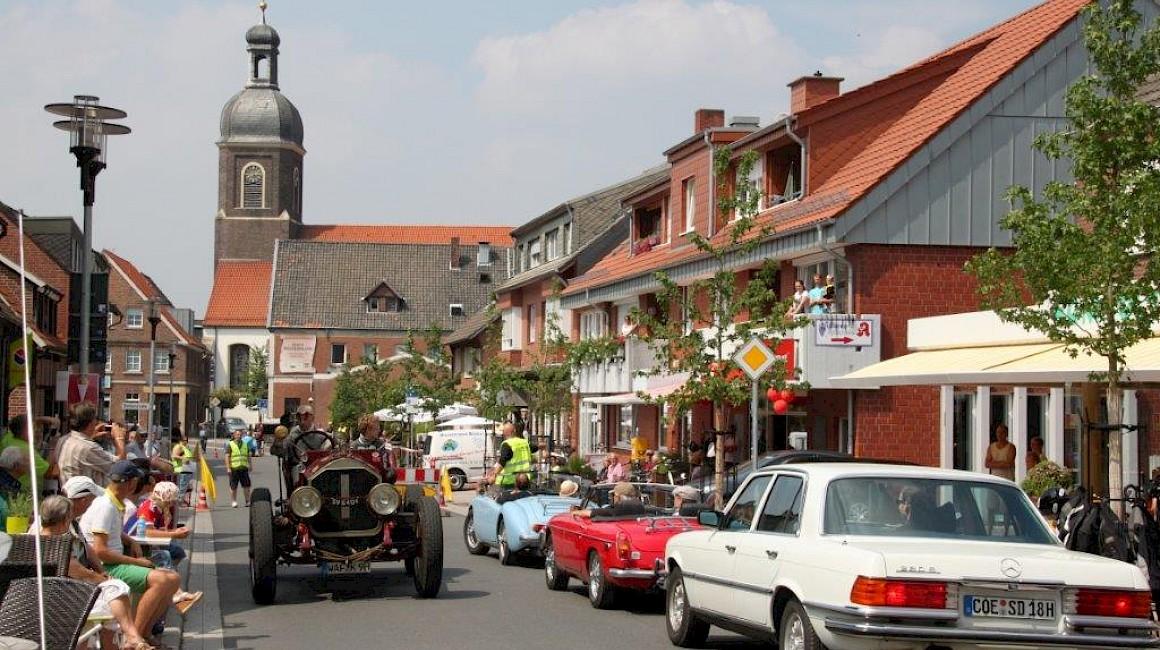 Der Ortskern von Nordkirchen ist Kulisse zahlreicher Veranstaltungen