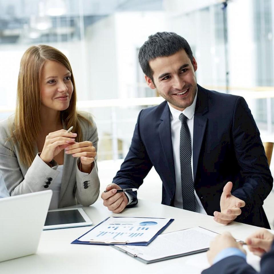 Het Creditreform team in Münster kijkt ernaar uit u te ontmoeten.