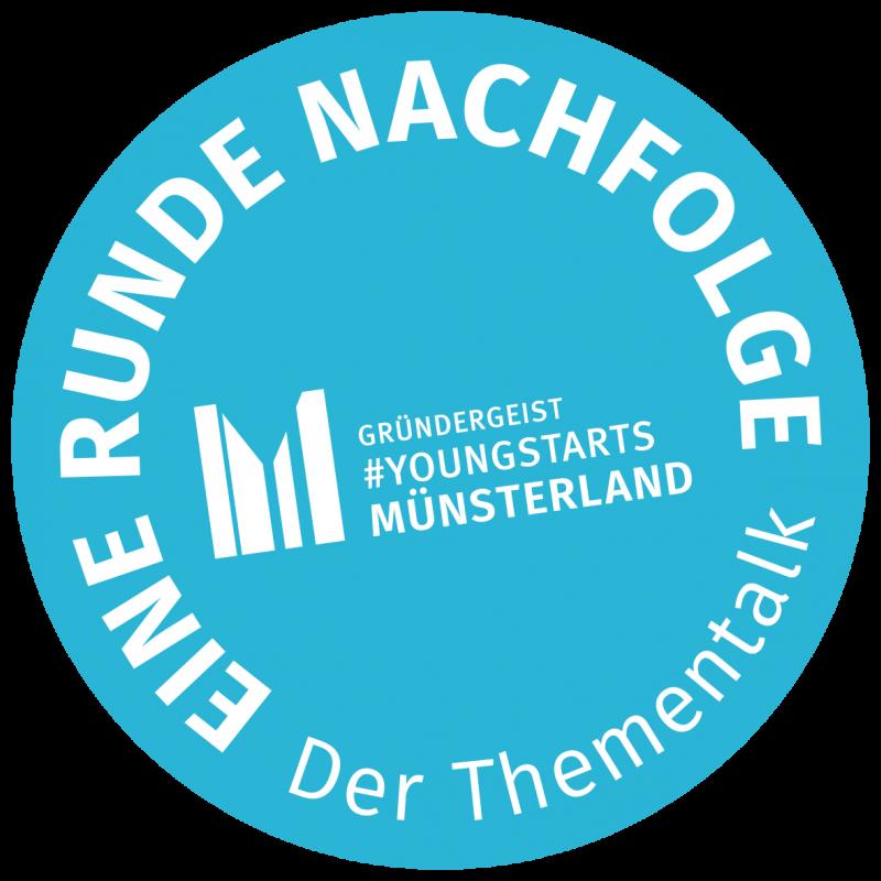 Eine Runde Nachfolge: So heißt der Thementalk von Gründergeist #Youngstarts Münsterland.<br>© Münsterland e.V.