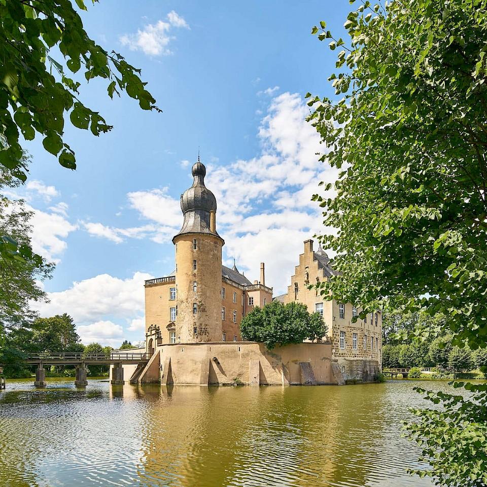 Die Burg Gemen an der 100-Schlösser-Route