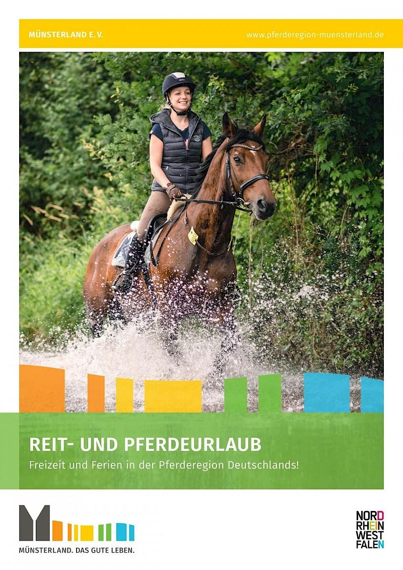 Katalog Reiten im Münsterland<br>© Münsterland e.V.