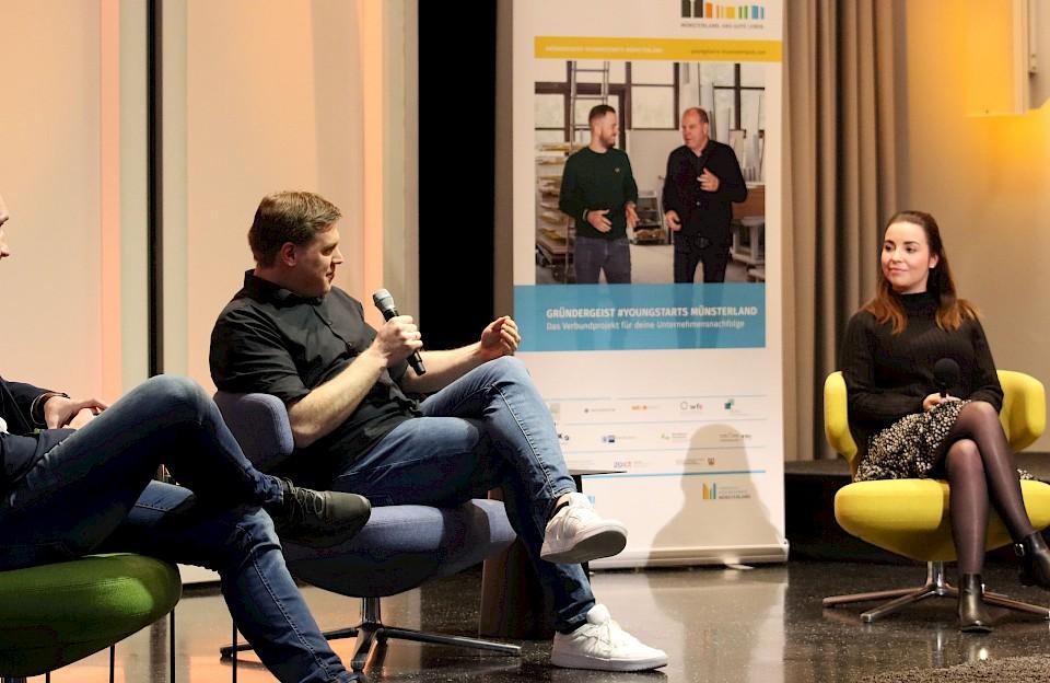 Das Verbundprojekt Gründergeist #Youngstarts Münsterland lädt zur nächsten Talkrunde ein.