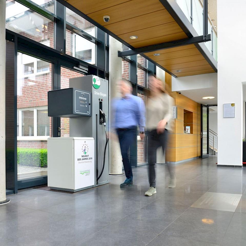 Het EnviTec Biogas team kijkt ernaar uit u te ontmoeten.
