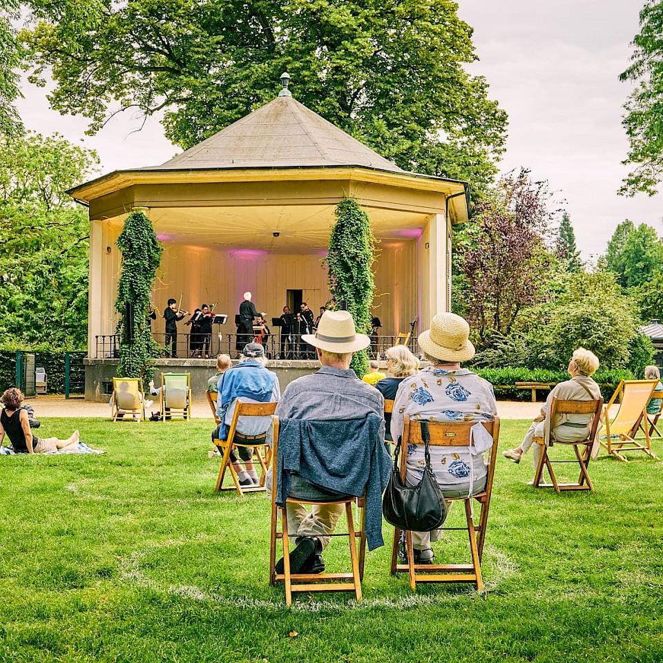 Picknickkonzert im Schlossgarten Münster 2020