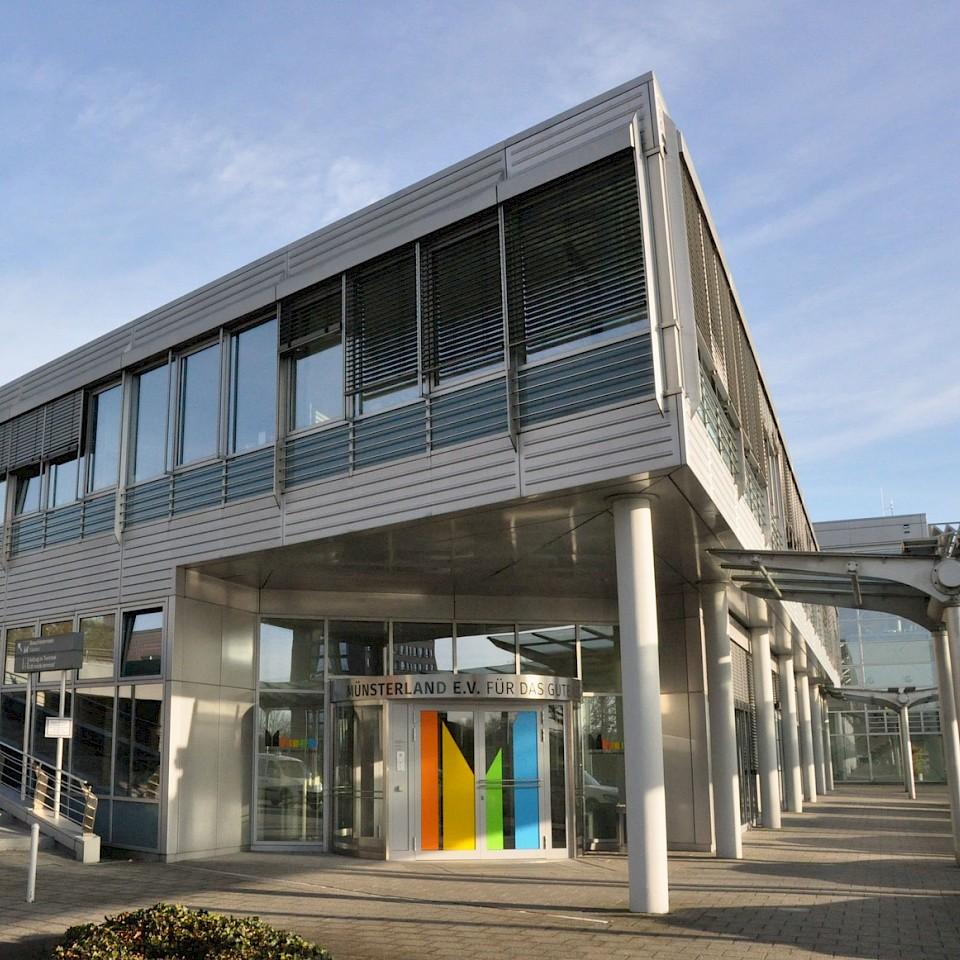 Die Geschäftsräume des Münsterland e.V. am FMO.