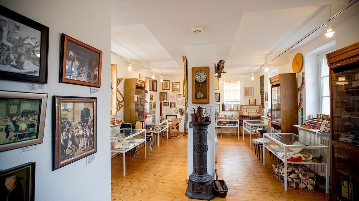 Die Ausstellung im Schulmuseum