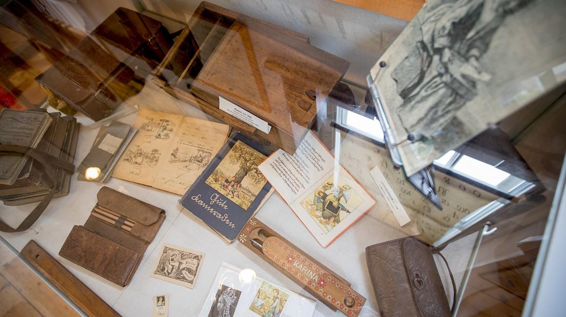 Blick in das Innere des Schulmuseum
