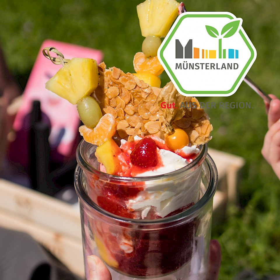 Eis-Picknick bei der Eis Lounge Maria Veen
