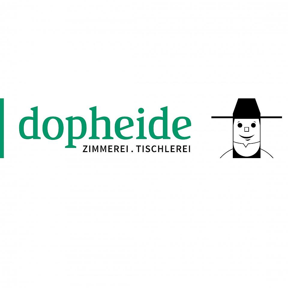 Das Logo der Zimmerei Dopheide.