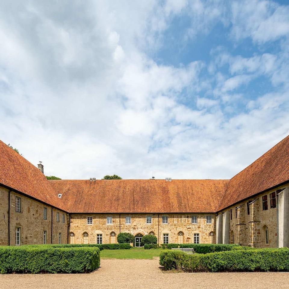 Das Kloster Bentlage bei Rheine gehört zu den Höhepunkten der Radreise.