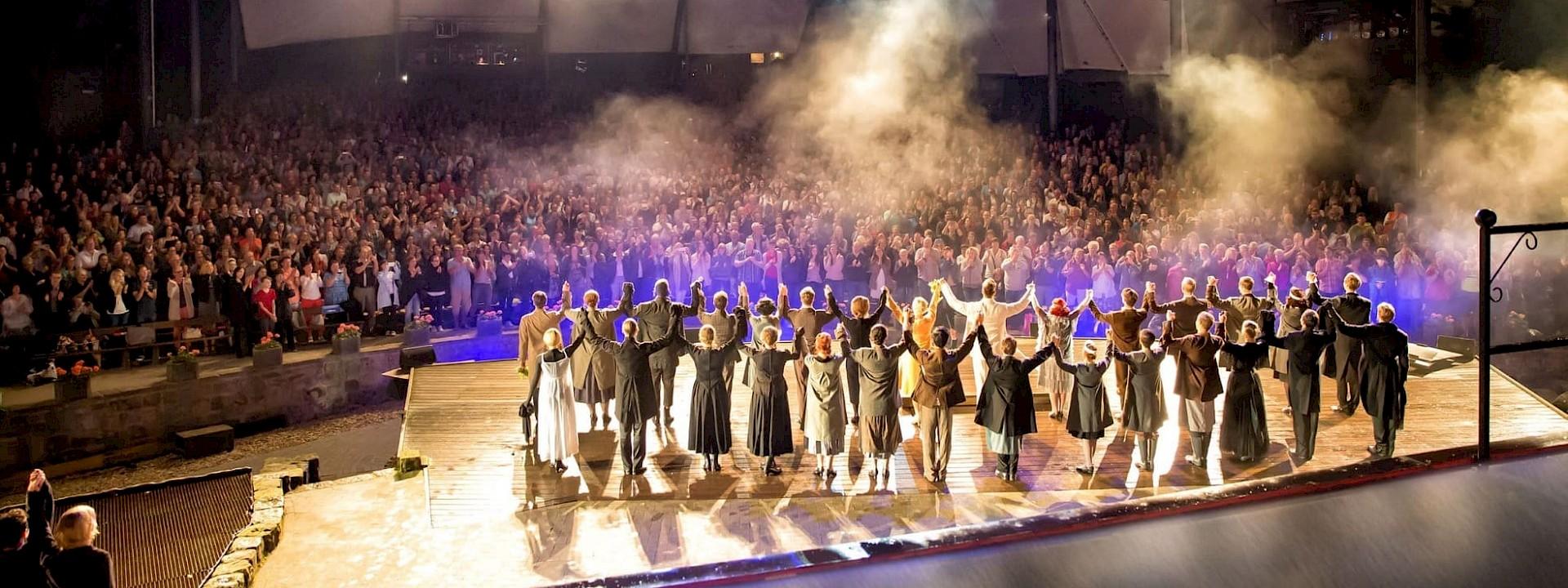 Traumhafte Unterhaltung auf großer Bühne Freilichtspiele Tecklenburg